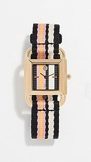 Tory Burch Часы Phipps с циферблатом диаметром 29мм