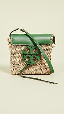 26712e7244df8 Tory Burch. Miller Straw Crossbody Bag