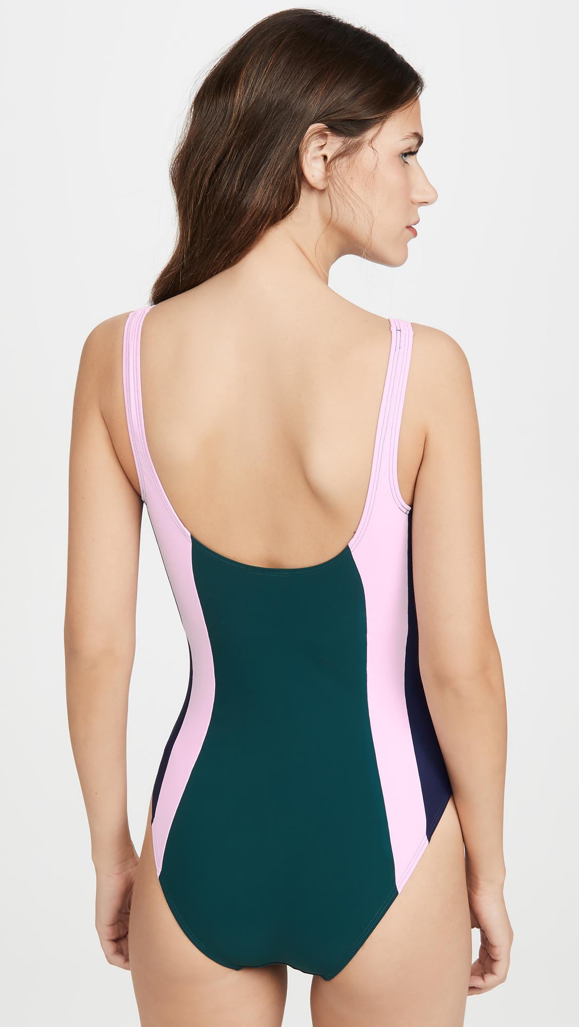 c6578618ee287 Tory Burch Colorblock Tank Suit | SHOPBOP
