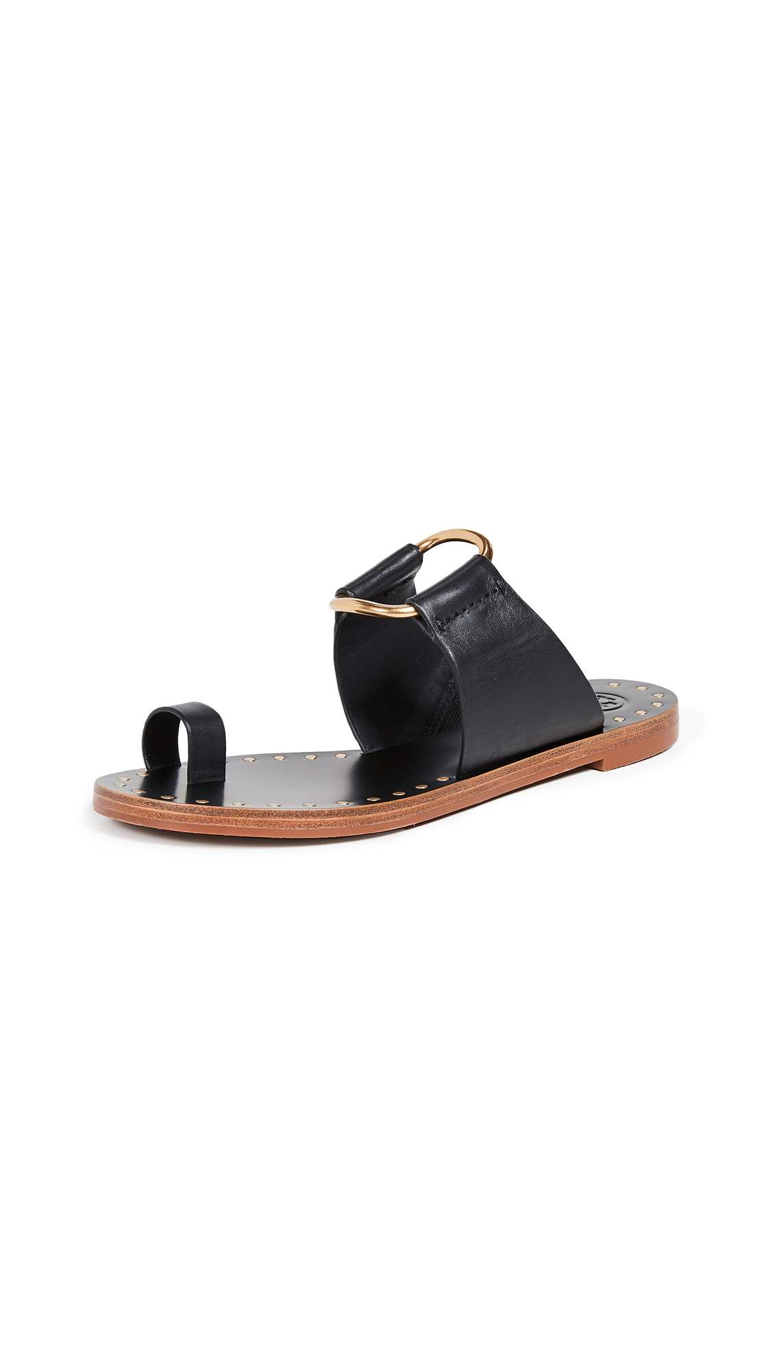 Buy Tory Burch online - photo of Tory Burch Ravello Studded Sandals