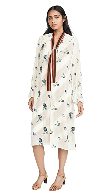 Tory Burch Contrast Slip Dress