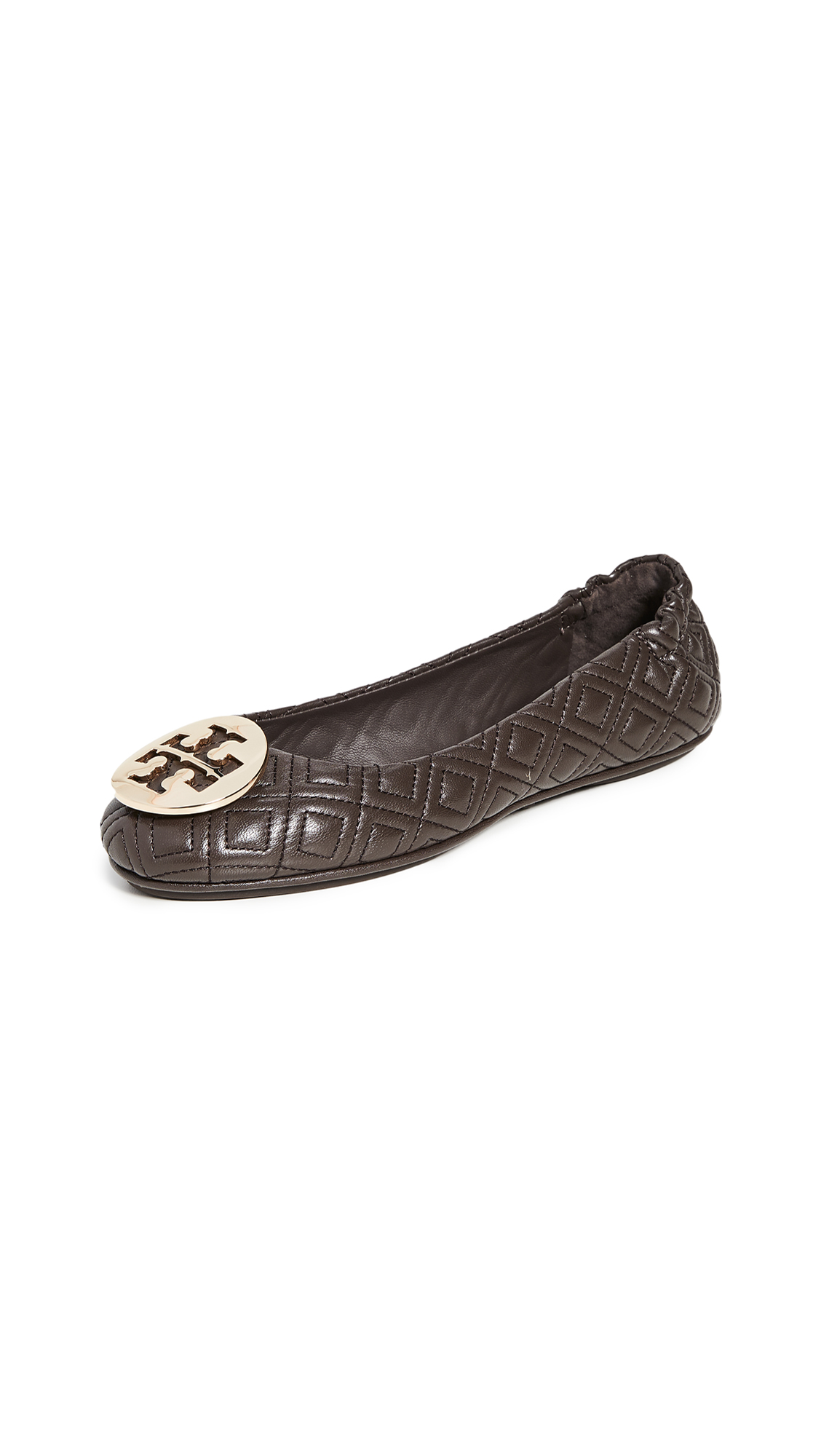Tory Burch Flats QUILTED MINNIE FLATS