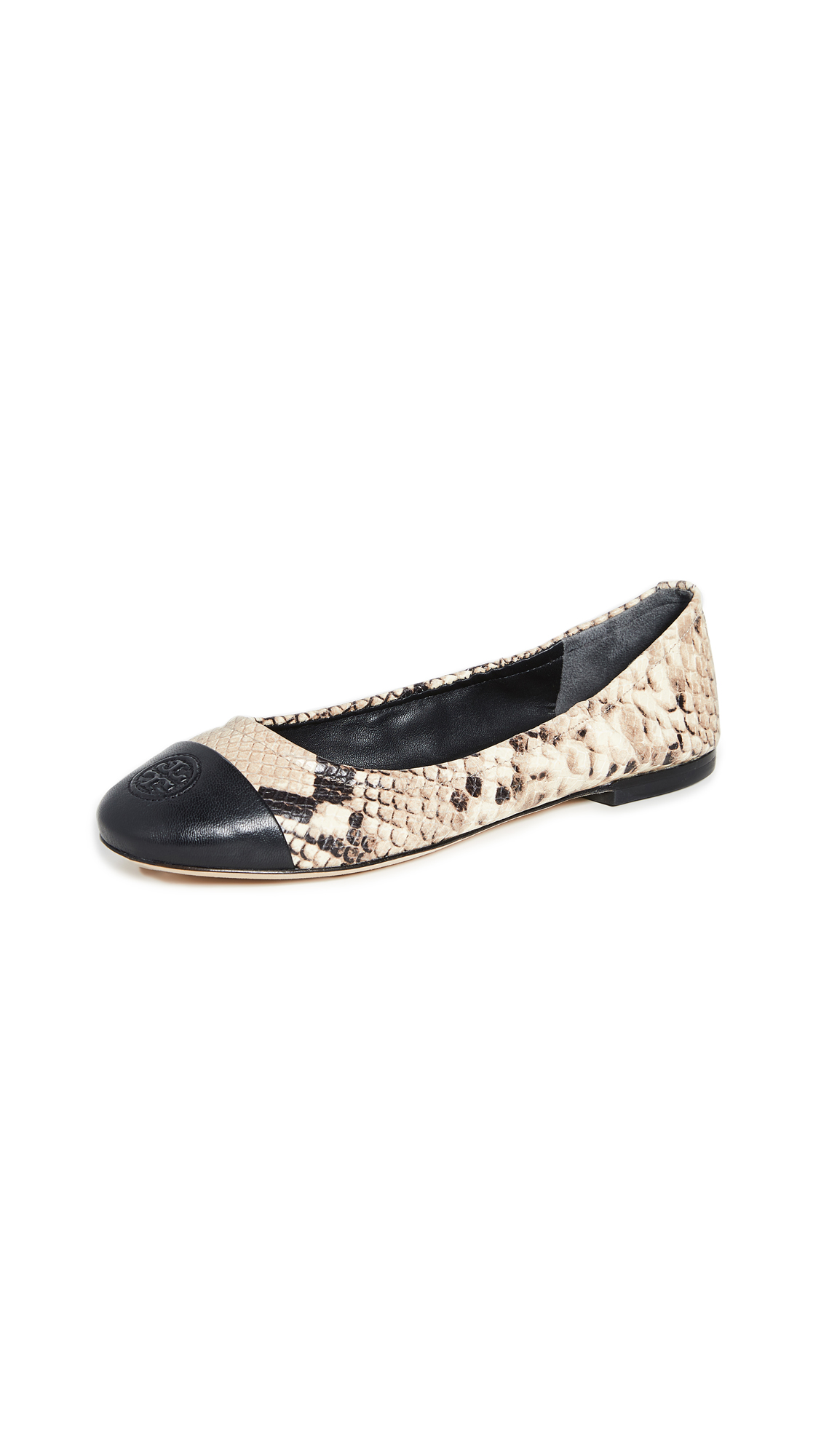 Tory Burch Exclusive Cap Toe Ballet Flats - 50% Off Sale