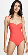 Tory Burch Lipsi Solid One Piece