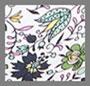 цветочный любовь с эффектом деграде в мелкий цветочек