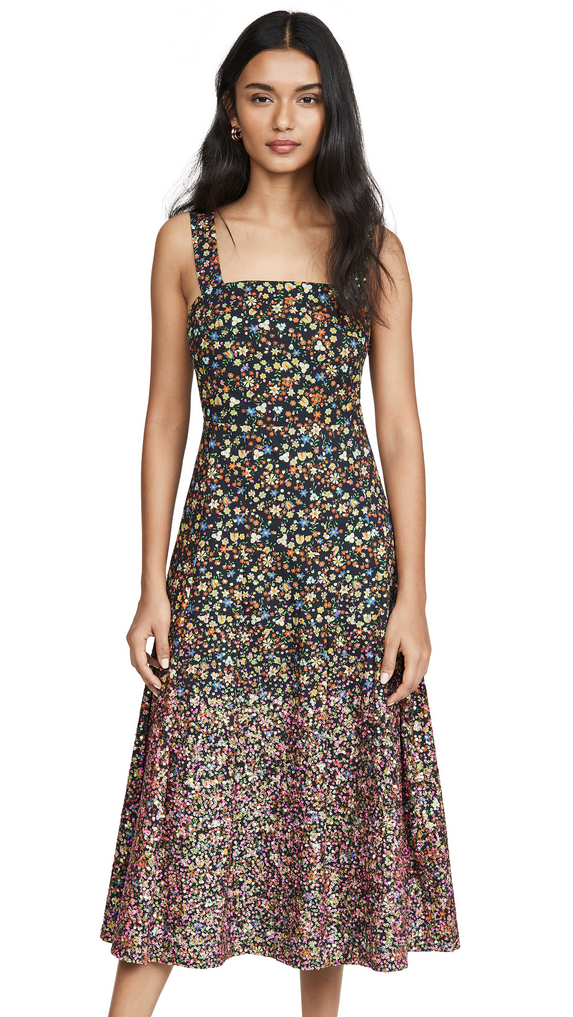 Tory Burch Sequin Embroidered Cotton Dress - 40% Off Sale