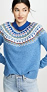 Tory Burch Fairisle Sweater