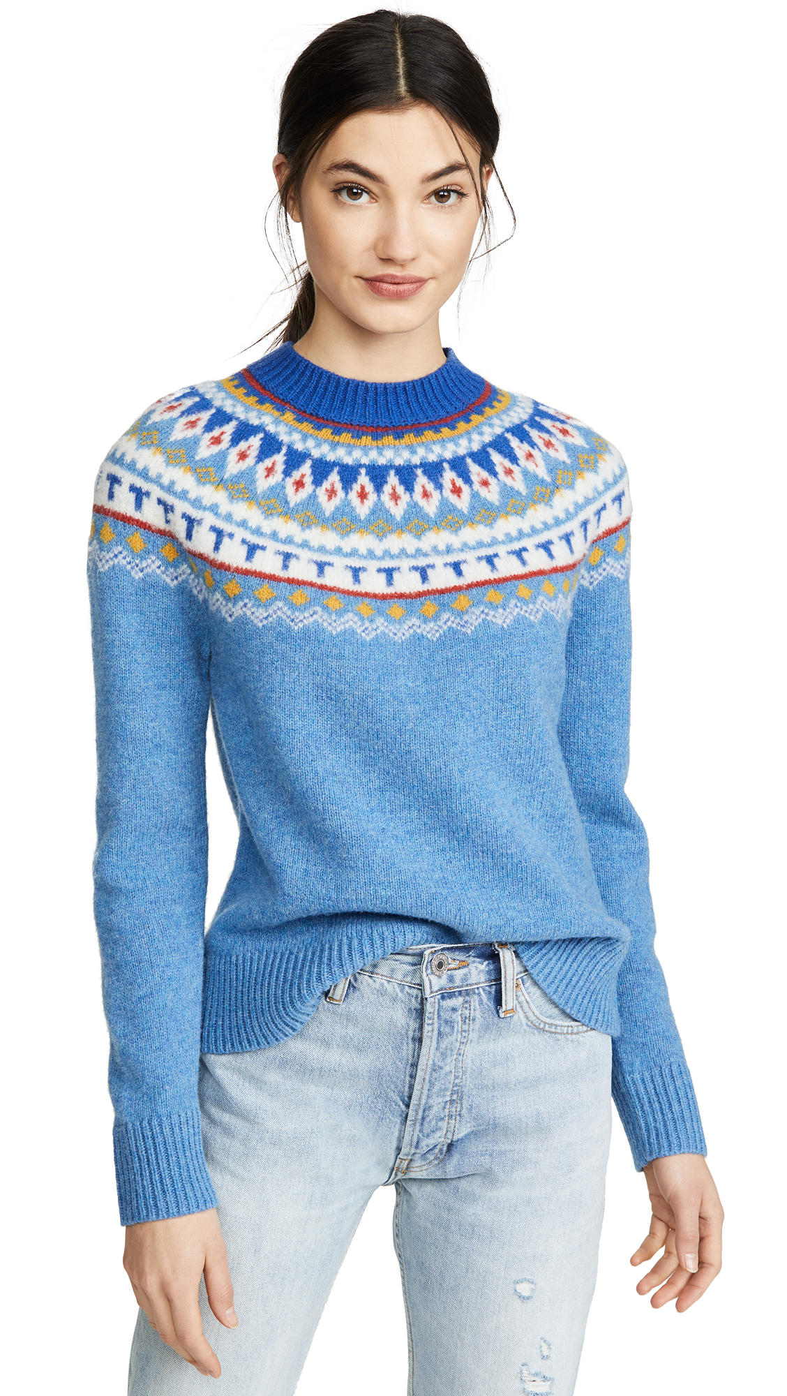Buy Tory Burch online - photo of Tory Burch Fairisle Sweater