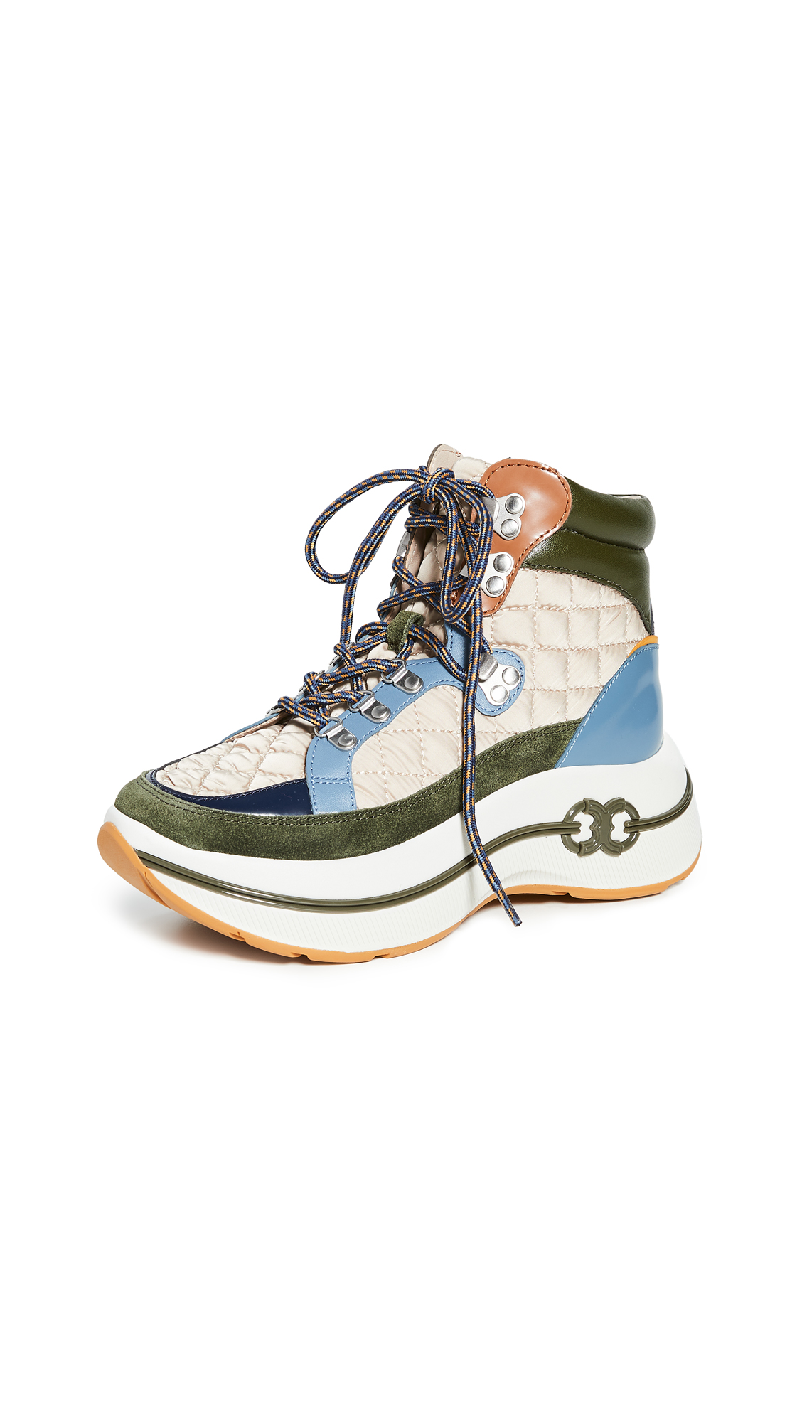 Buy Tory Burch online - photo of Tory Burch Gemini Link Platform Hiking Boots