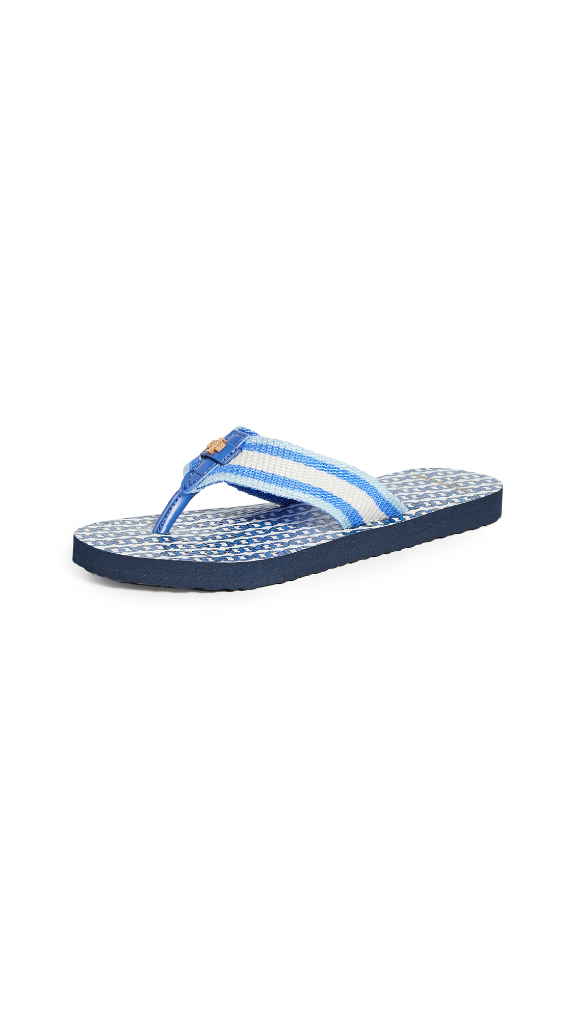 Buy Tory Burch online - photo of Tory Burch Gemini Link Thin Flip Flops