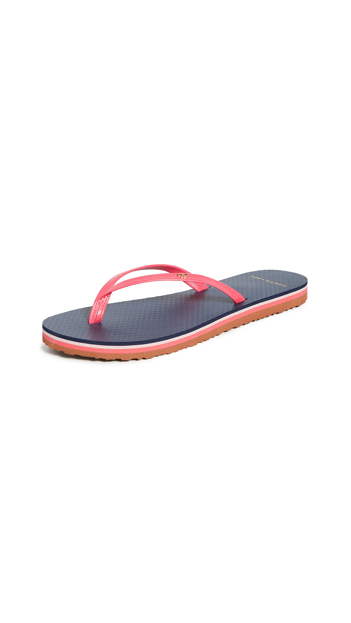 Tory Burch Leather Flip Flops – 30% Off Sale