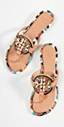 Tory Burch Enamel Miller Sandals