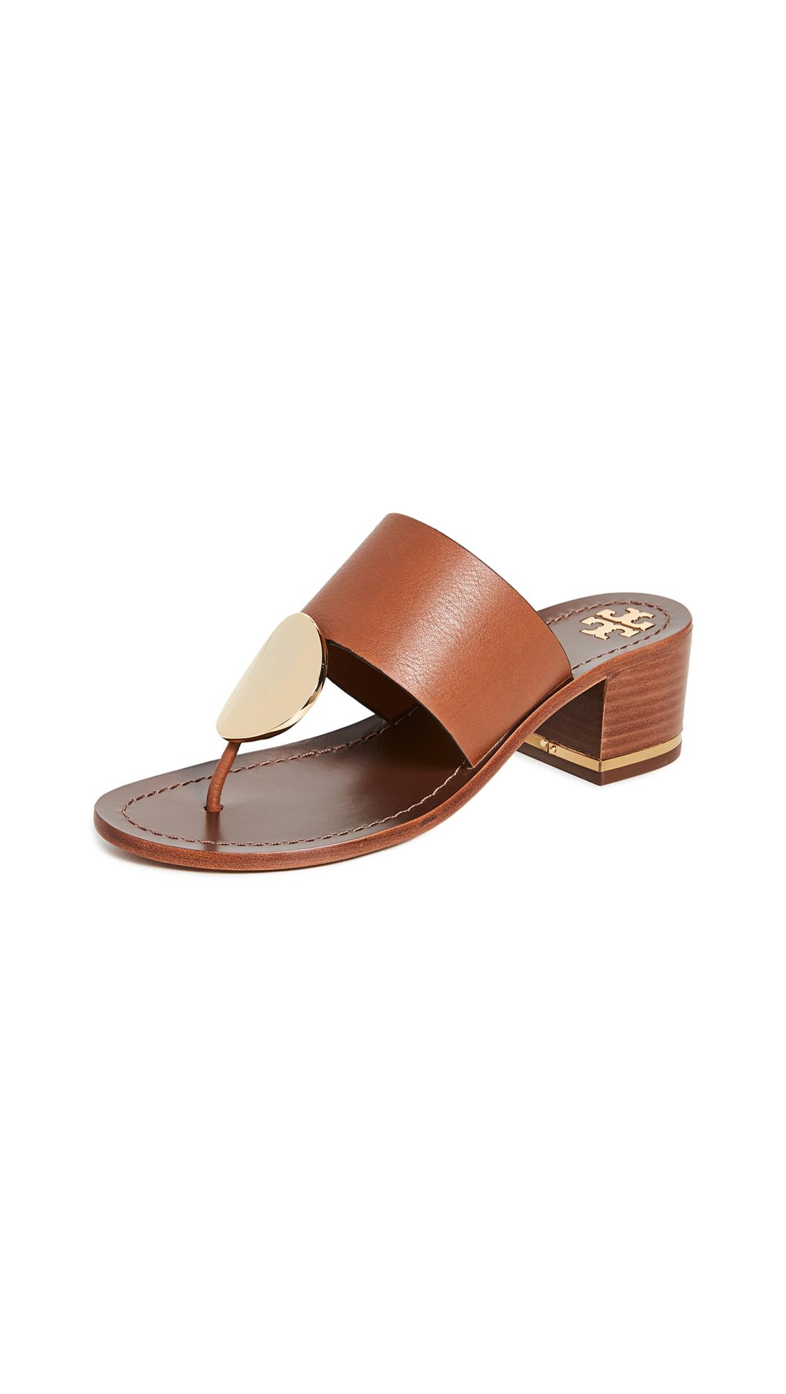 Buy Tory Burch 45mm Patos Disk Sandals online, shop Tory Burch