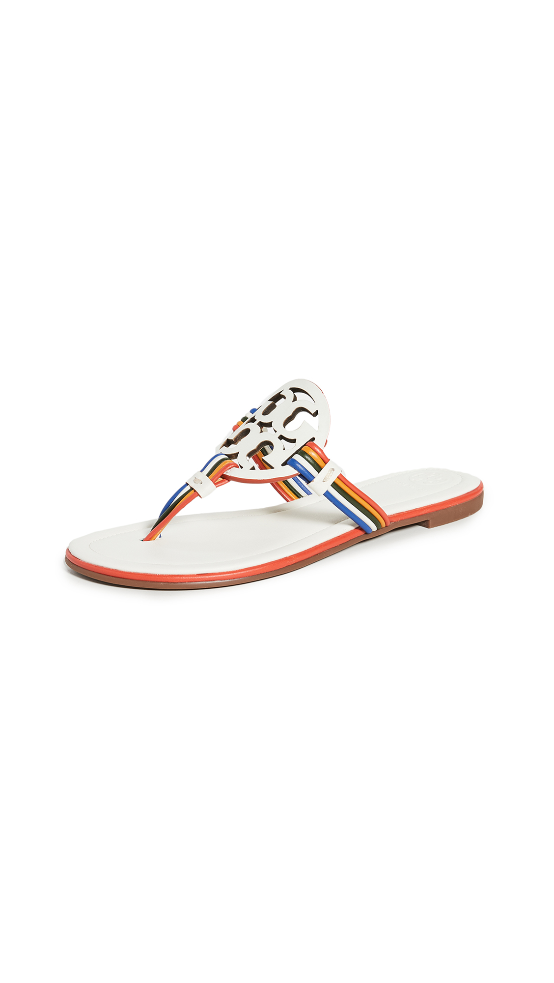 Buy Tory Burch online - photo of Tory Burch Mignon Miller Flip Flops