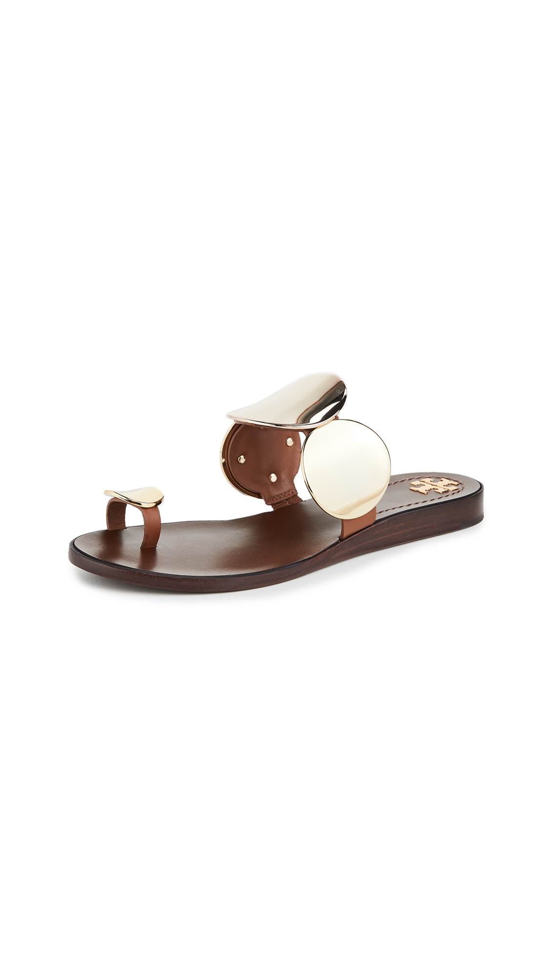 Buy Tory Burch Patos Multi Disk Sandals online, shop Tory Burch