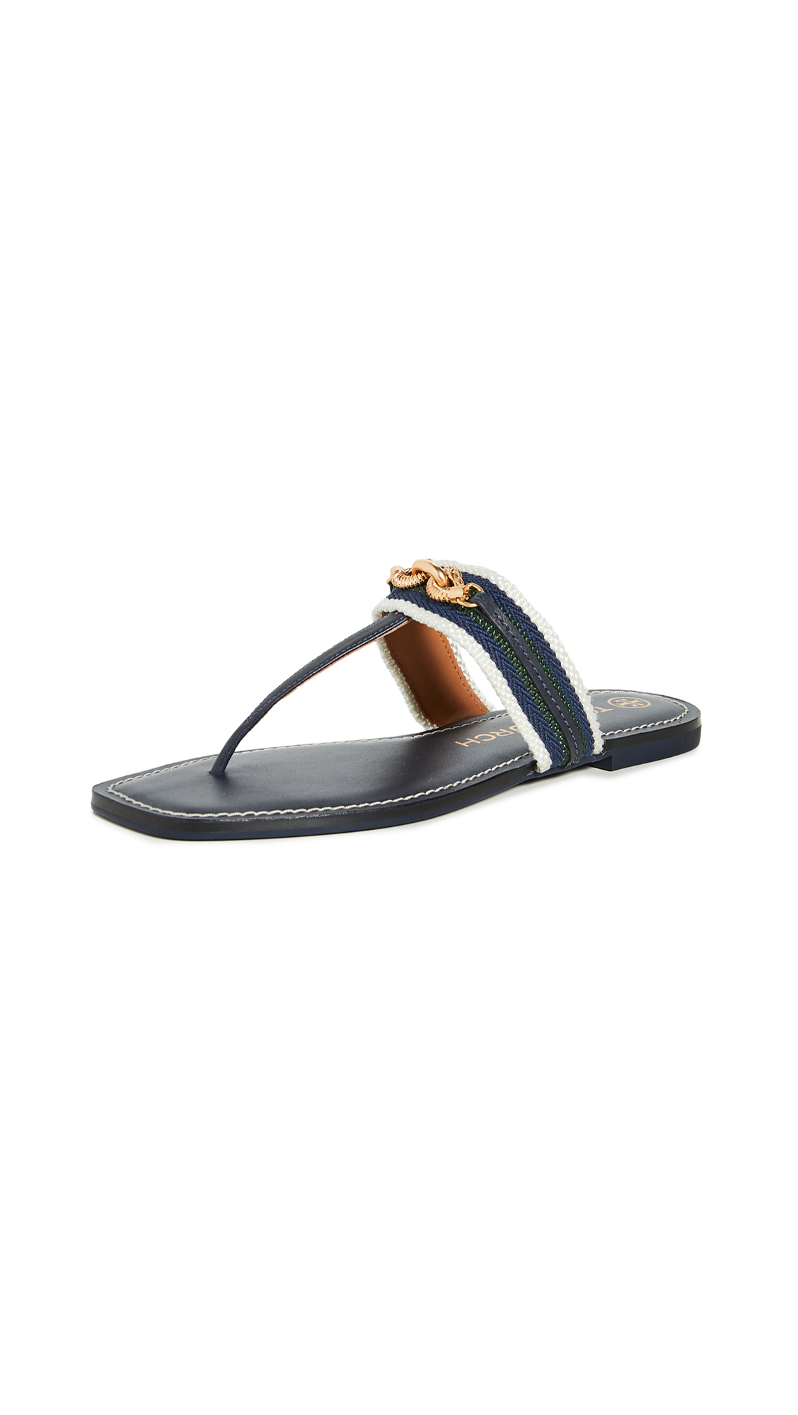 Buy Tory Burch online - photo of Tory Burch Jessa Thong Sandals