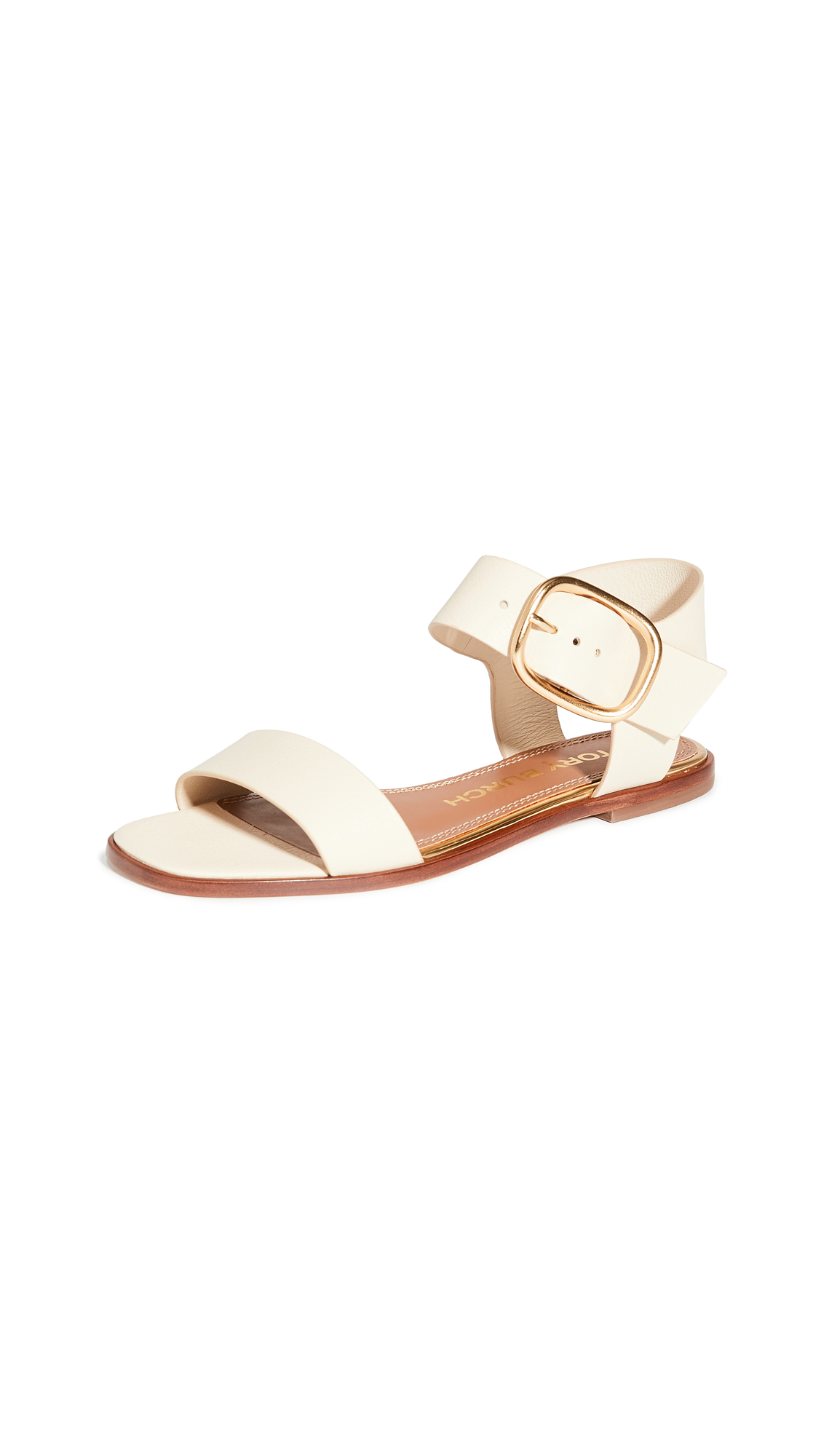 Buy Tory Burch Selby Flat Sandals online, shop Tory Burch