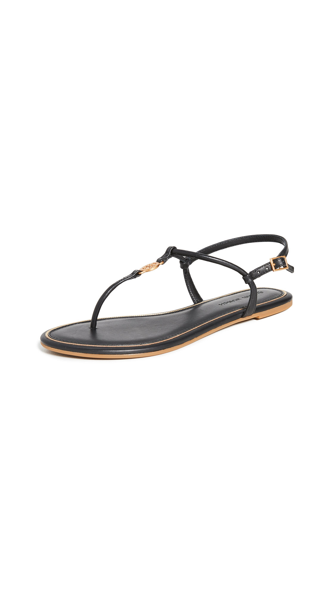 Buy Tory Burch Emmy Flat Sandals online, shop Tory Burch