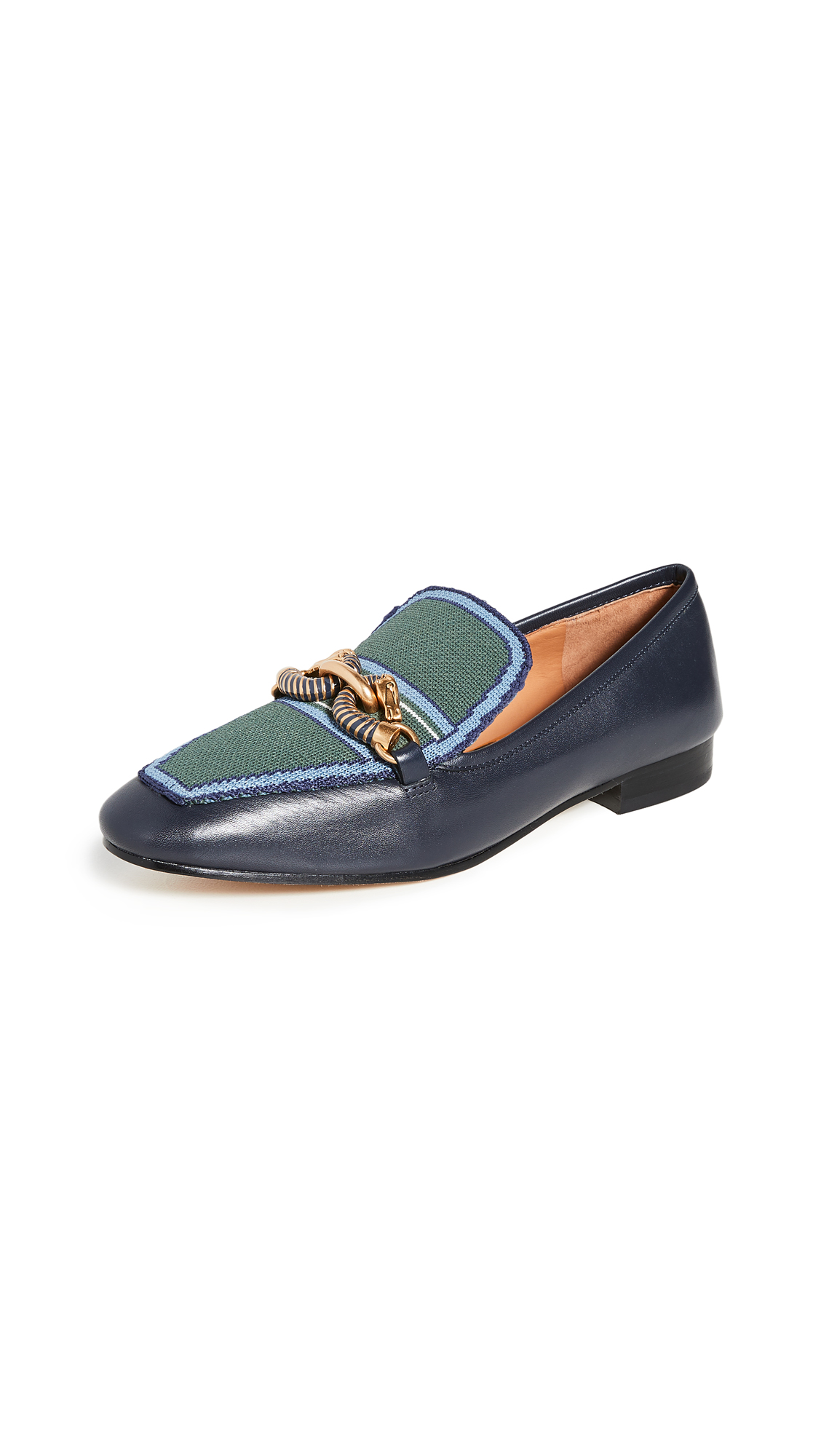 Buy Tory Burch online - photo of Tory Burch Jessa 20mm Loafers