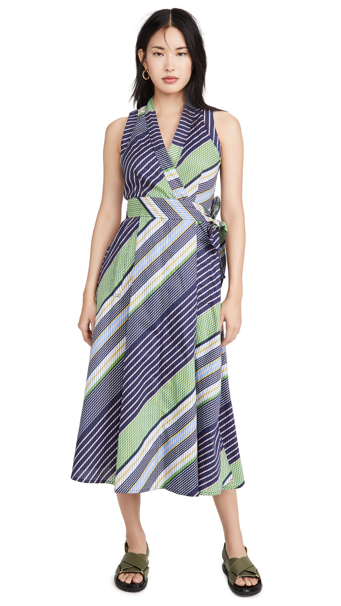 Buy Tory Burch Overprinted Wrap Dress online beautiful Tory Burch Clothing, Dresses