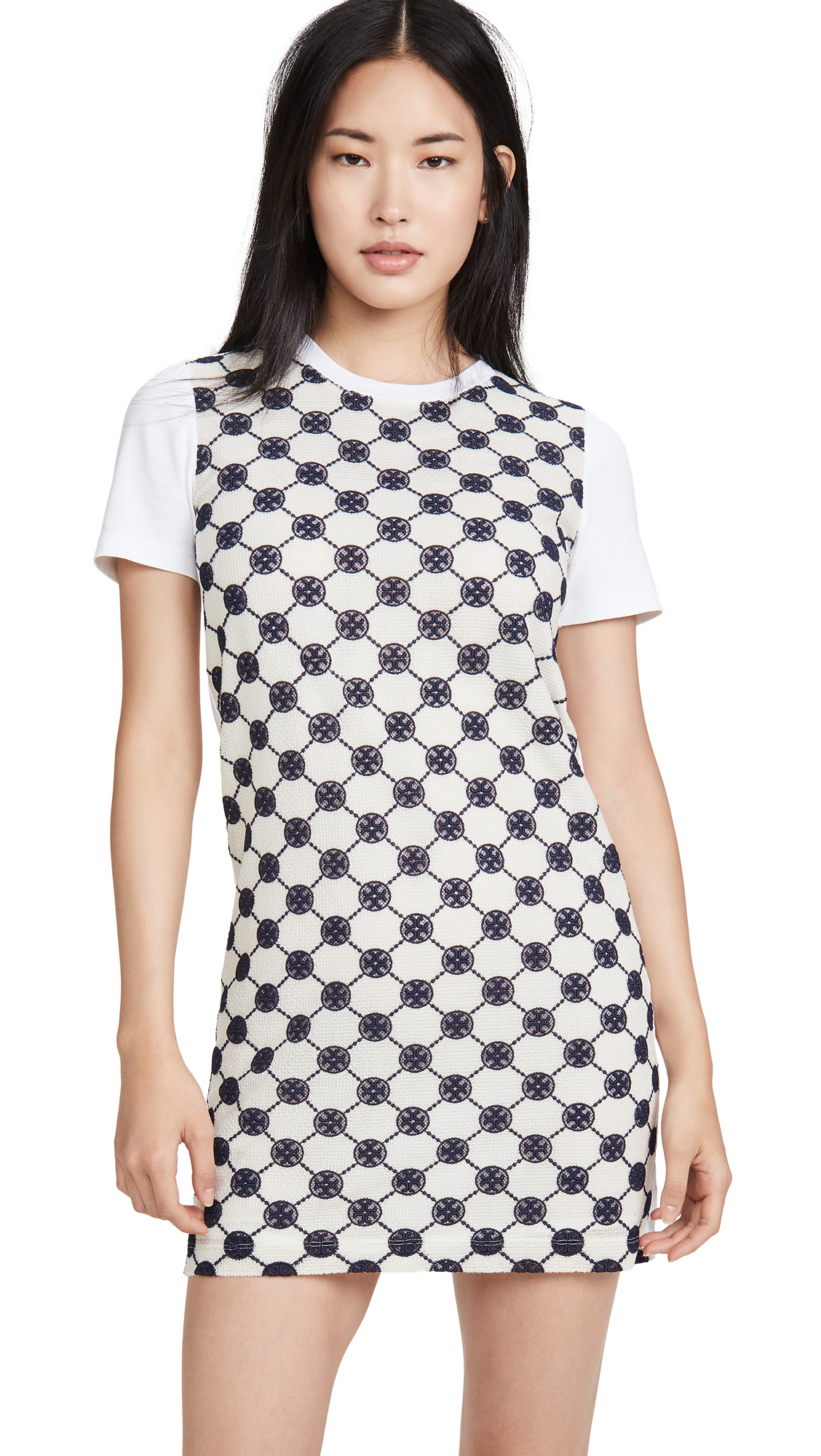 Tory Burch Logo T-Shirt Dress - 30% Off Sale