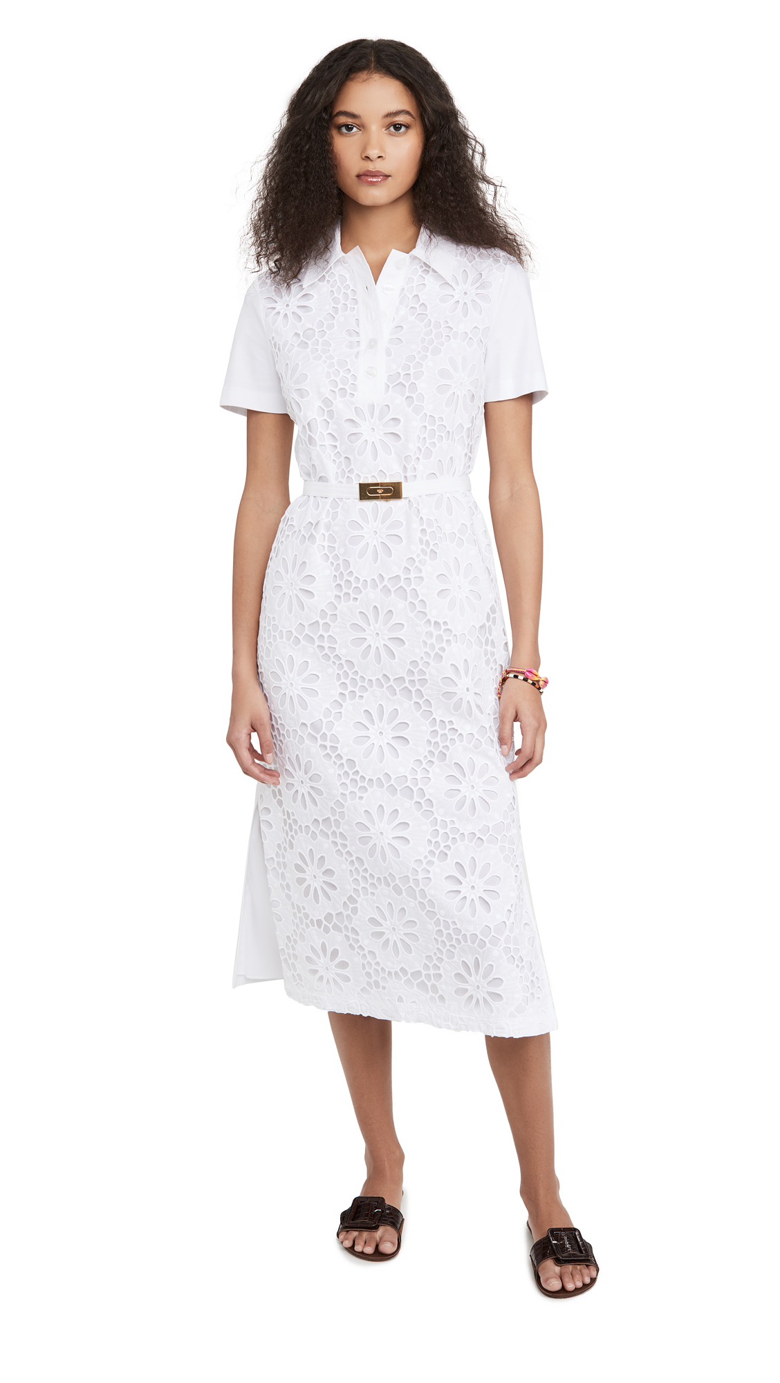 Tory Burch Lace Polo Dress - 30% Off Sale