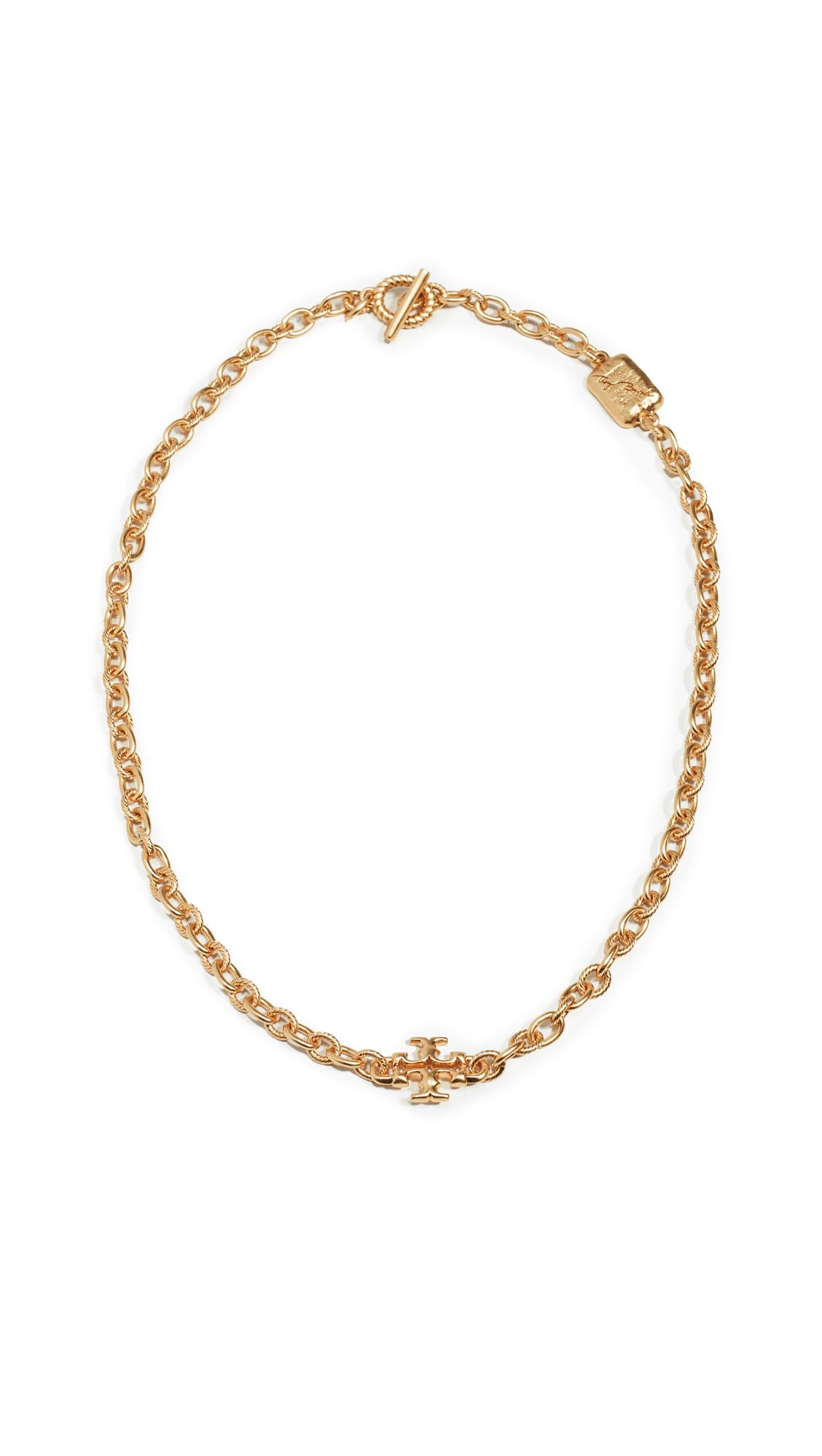 Tory Burch Torsade Short Necklace