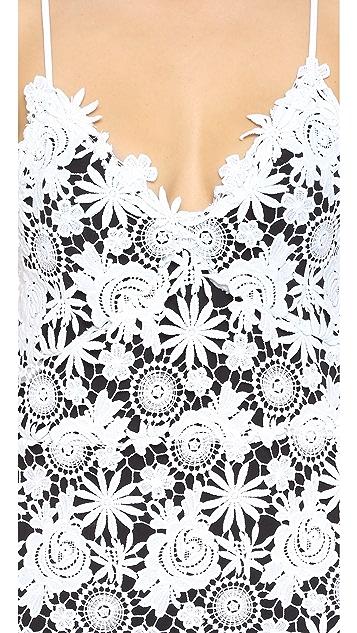 ThePerfext Crochet Lace Maxi Dress