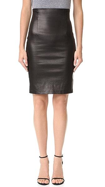 ThePerfext High Waisted Skirt - Black