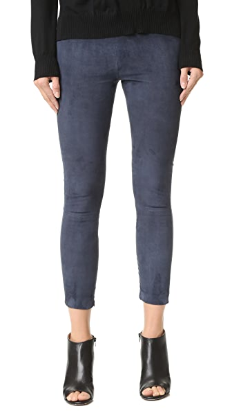 ThePerfext Brittany Suede Leggings