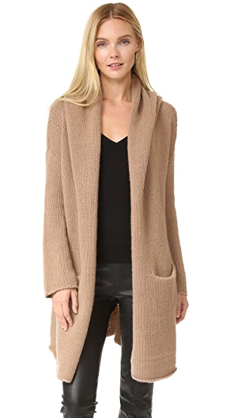 ThePerfext Collette Cozy Long Sweater - Camel
