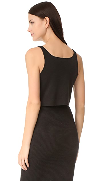 ThePerfext V Neck Cashmere Tank