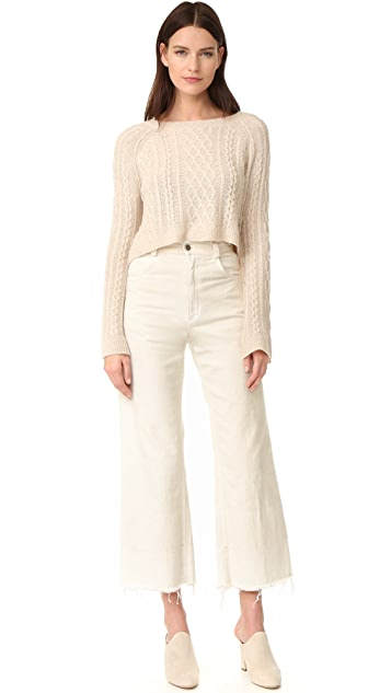 ThePerfext Cashmere Cable Sweater