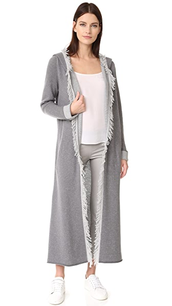 ThePerfext Long Cashmere Cardigan