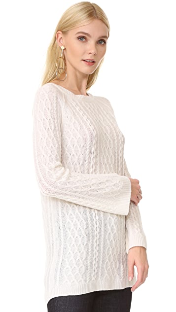 ThePerfext Cashmere Cable Dress