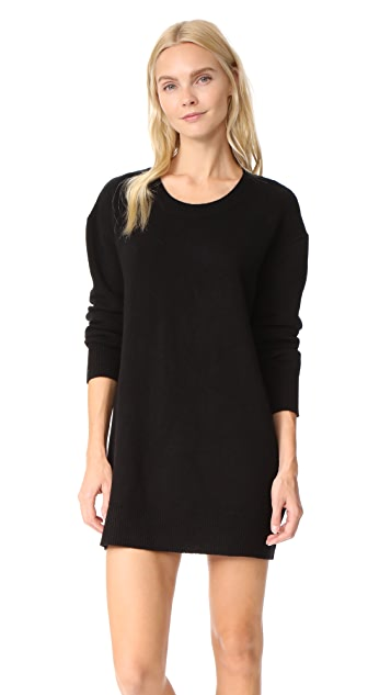 ThePerfext Oversized Cashmere Sweater Dress