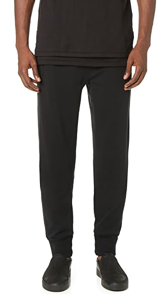 3.1 Phillip Lim Nylon Combo Classic Leisure Pants