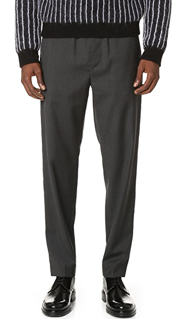 3.1 Phillip Lim Elastic Waist Classic Taper Trousers