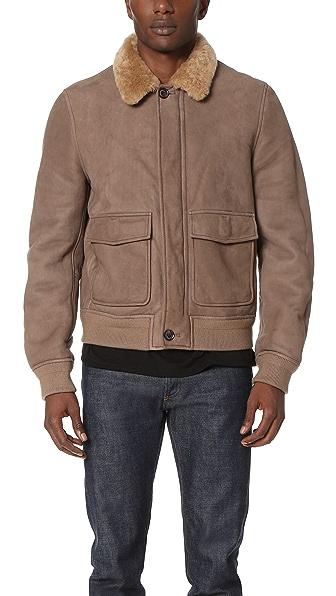 3.1 Phillip Lim Shearling Pilot Jacket