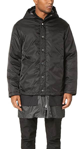 3.1 Phillip Lim Tromp l'Oeil Hooded Bomber