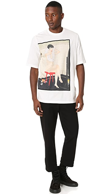 3.1 Phillip Lim Woman On Red Stool Tee