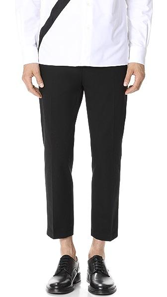 3.1 Phillip Lim Classic Cropped Saddle Pants