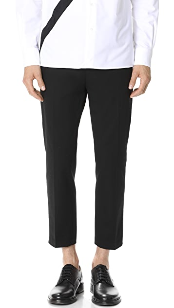 3.1 Phillip Lim Classic Cropped Saddle Pants