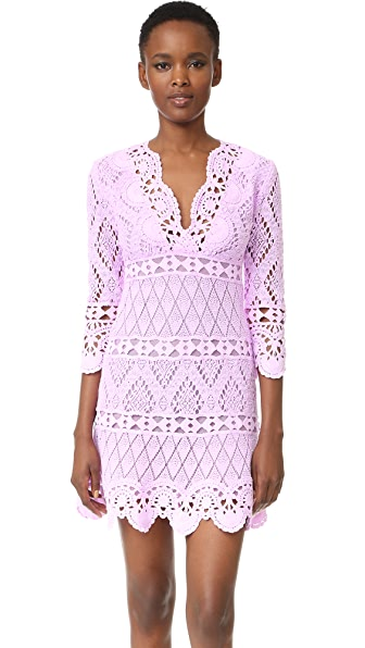Temptation Positano Crochet Dress - Lilia Fula