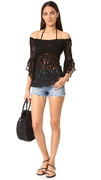 Temptation Positano Off the Shoulder Lace Top