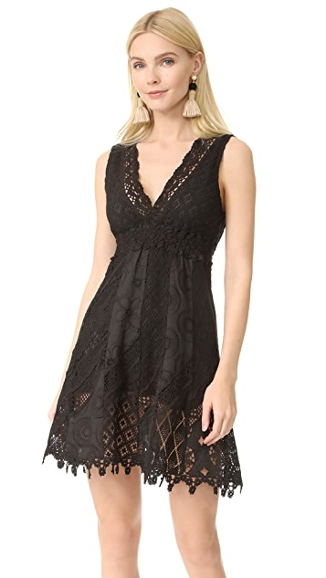 Temptation Positano V Neck Short Dress