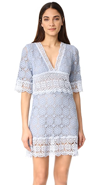 Temptation Positano V Neck Half Sleeve Dress