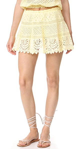 Temptation Positano Eyelet Skirt at Shopbop