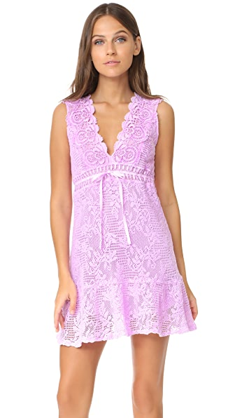 Temptation Positano V Cut Dress - Lilla Fula
