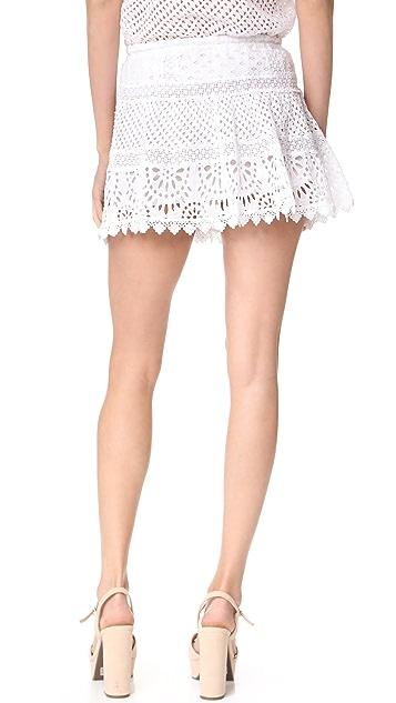 Temptation Positano Eyelet Skirt